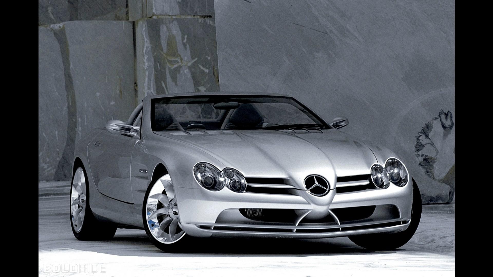 Mercedes benz vision slr roadster concept for Mercedes benz vision