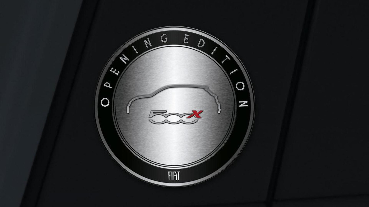 Fiat 500X Opening Edition