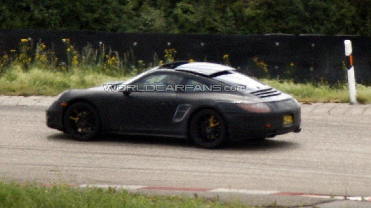 2012 Porsche 911 Targa spied 11.07.2011