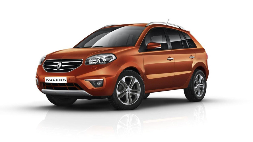 2012 Renault Koleos facelift revealed