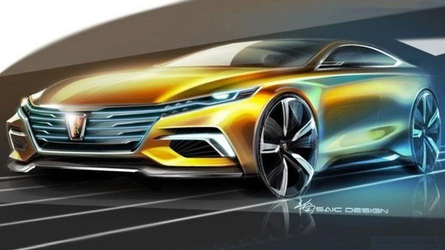 Roewe Vision R concept teased ahead of Guangzhou debut