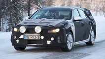Kia Optima Sportswagon spied on a chilly day