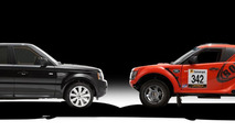 Range Rover Sport and Bowler EXR 21.6.2012