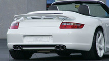 TechArt 911 Carrera 4 and 4S Cabriolets Revealed (997)