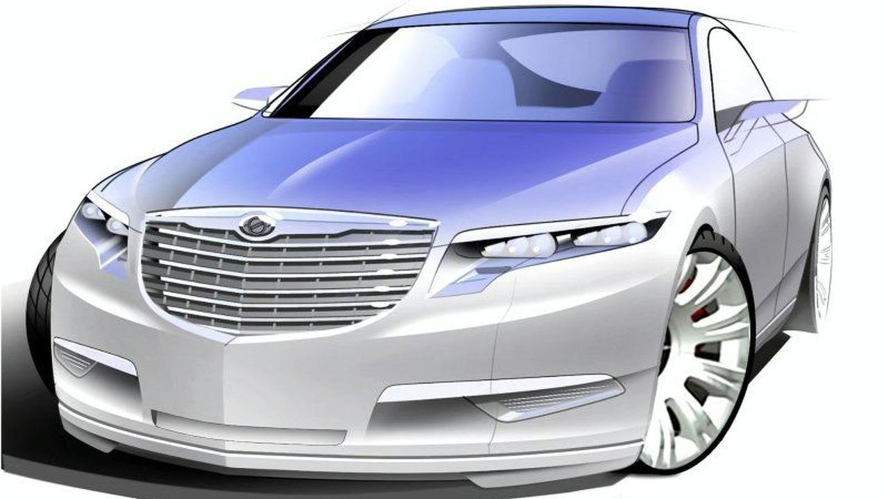 Chrysler Nassau Concept design sketch