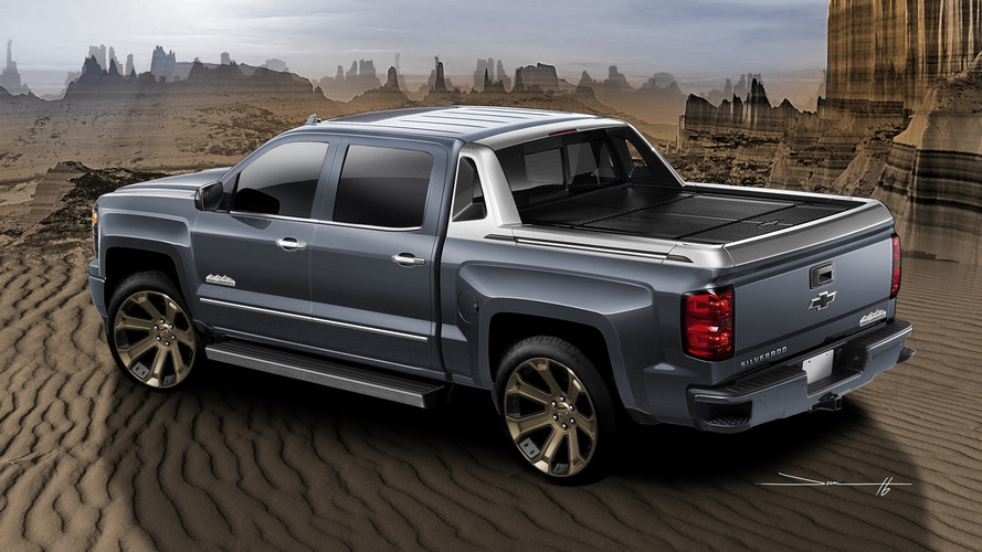Chevy Silverado concepts for SEMA