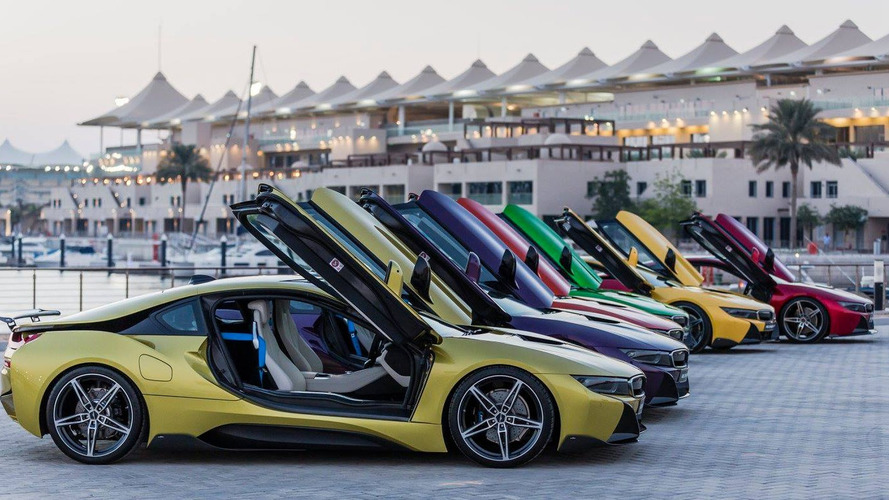 Colorful BMW i8s return in extensive gallery (67 photos)