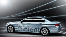 BMW Concept 5 Series ActiveHybrid first photos 26.02.2010