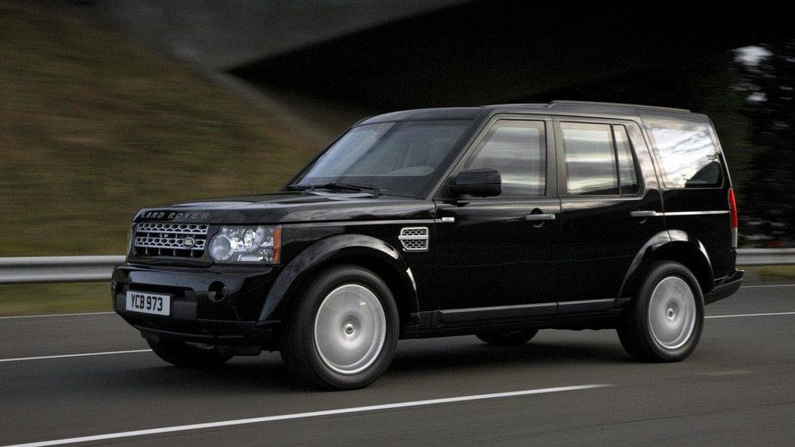 Land Rover Discovery 4 armoured vehicle introduced