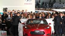 Toyota FT-86 Concept live at Tokyo Motor Show