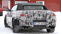 2012 BMW M6 Cabrio spied in the cold