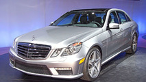 2010 Mercedes E 63 AMG World Debut at New York Auto Show