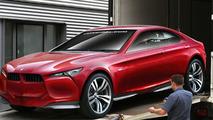 BMW Concept Vision Z Rendered