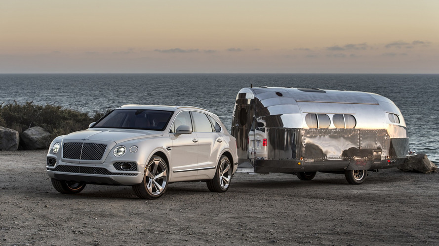 Bentley Bentayga will tow a trailer for the first time at Pebble Beach