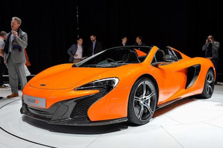 Geneva: McLaren 650S Goes Topless for the Crowd