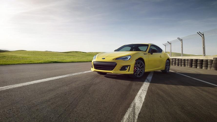 2017 Subaru BRZ Series.Yellow announced