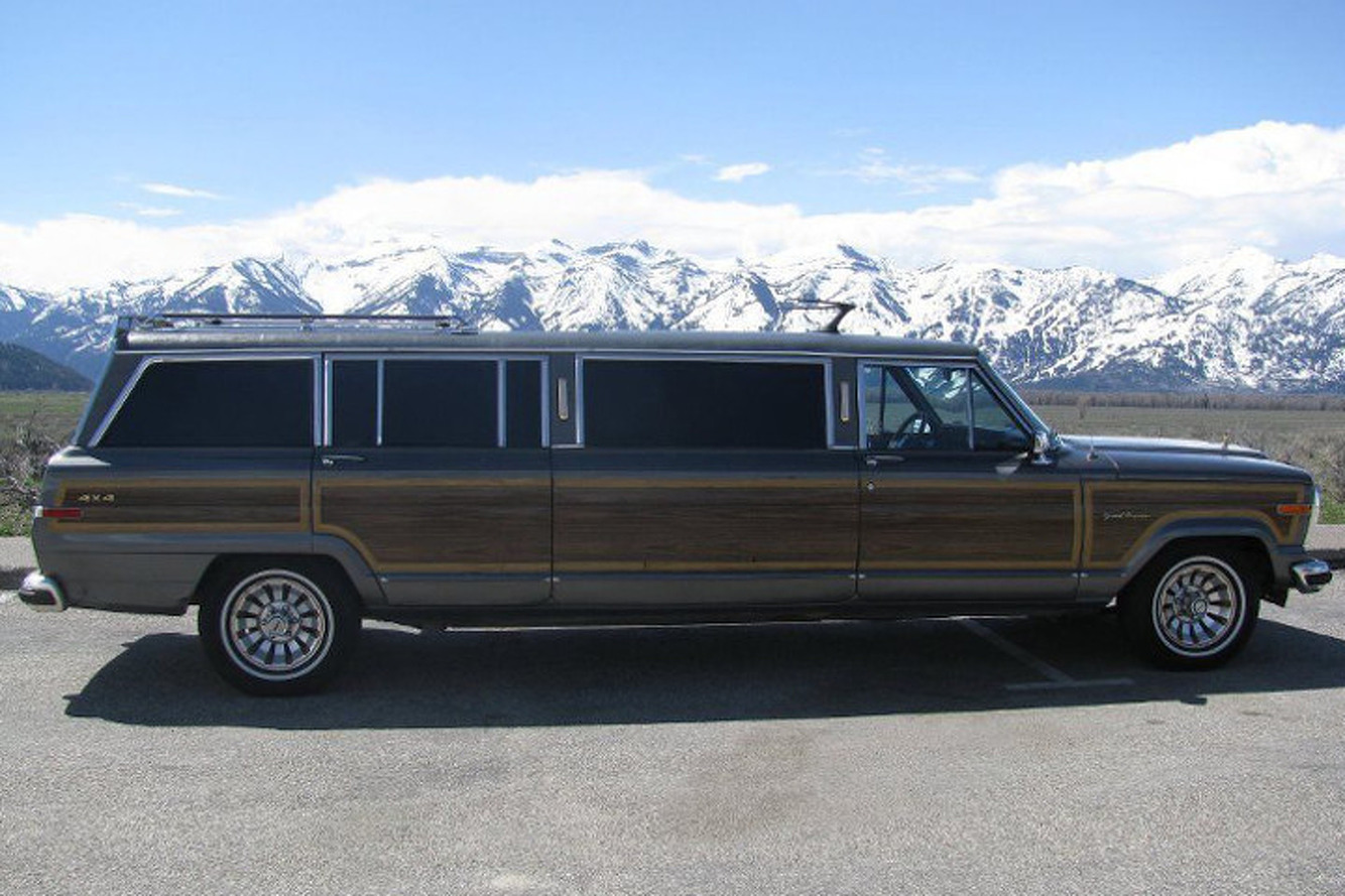 Jeep Wagoneer Limousine: For the Outdoorsman with Lavish Tastes