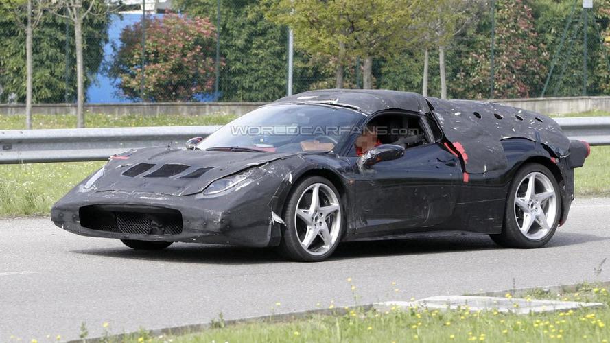 Ferrari Enzo II mule caught up close