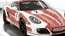 Porsche unveils Facebook-themed Cayman S