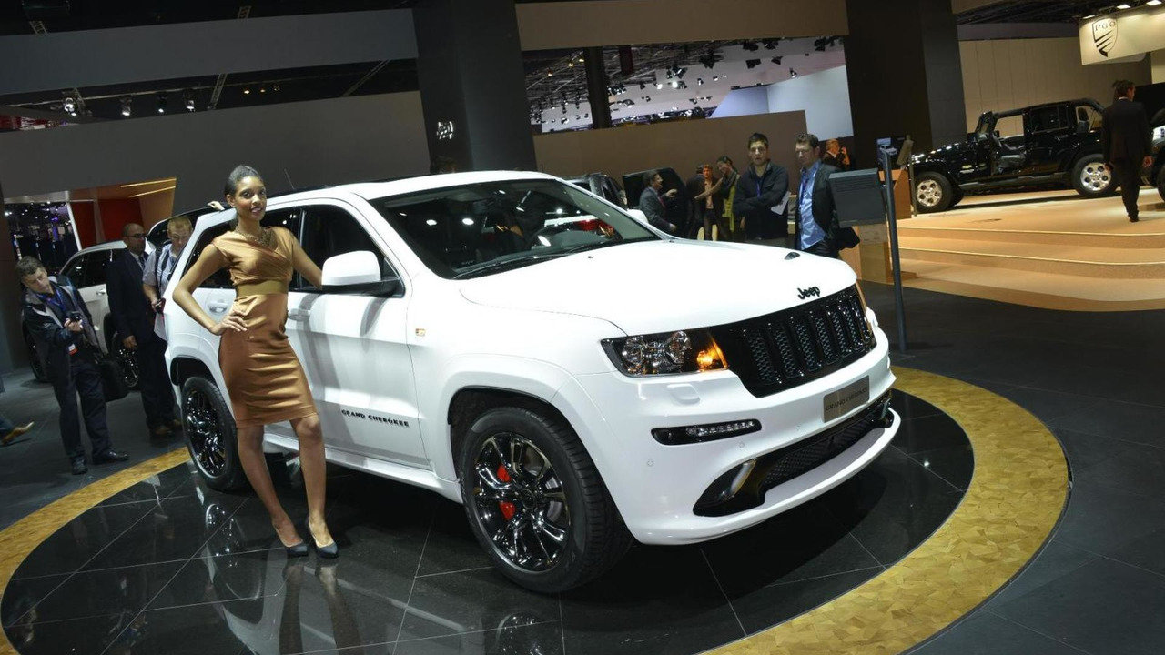 2013 Jeep Grand Cherokee SRT8 limited edition
