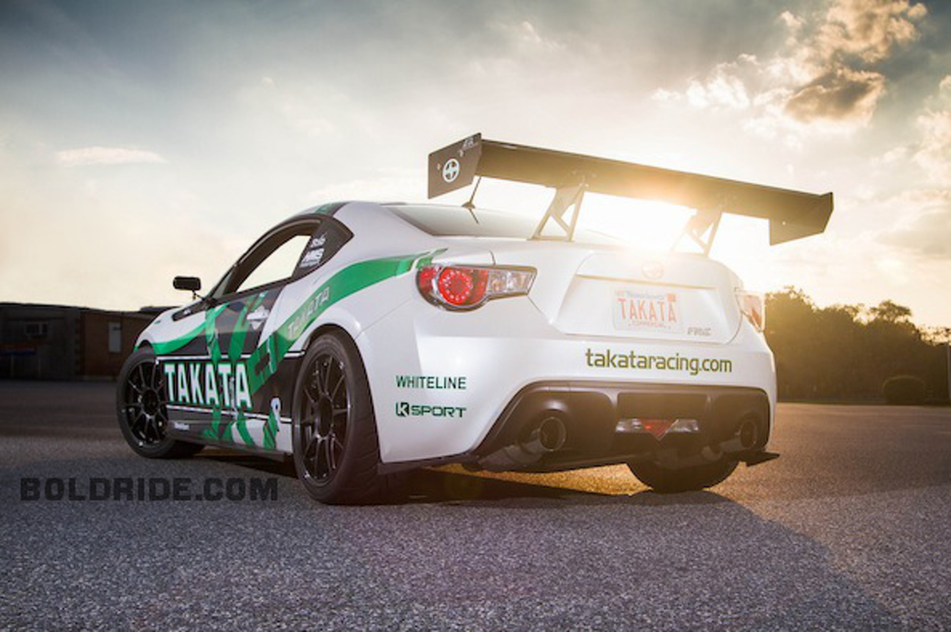 Wheels Wallpaper: Takata Racing Scion FR-S