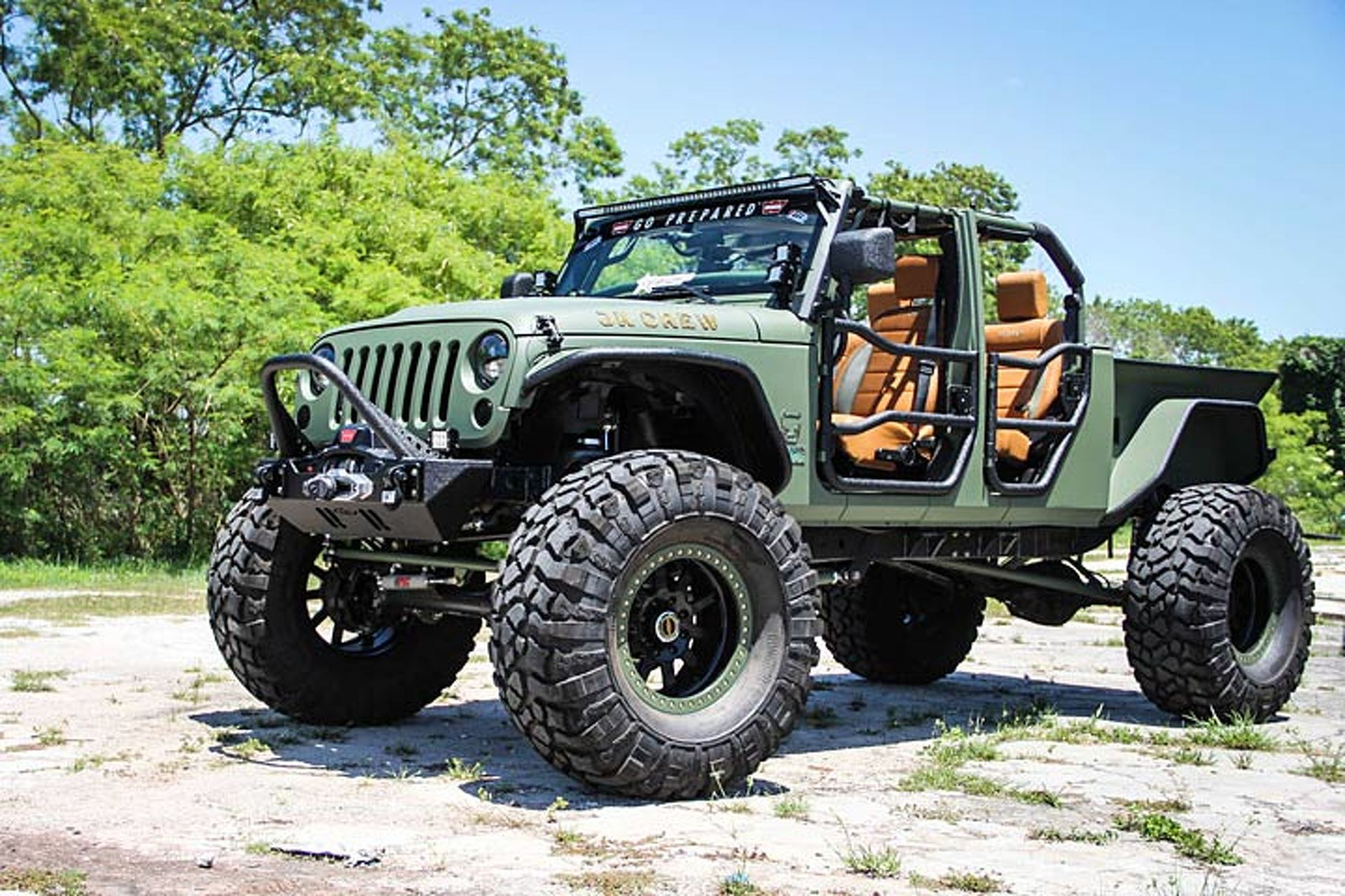 The 'JK Crew' is a Jeep Wrangler Cranked Up to 11