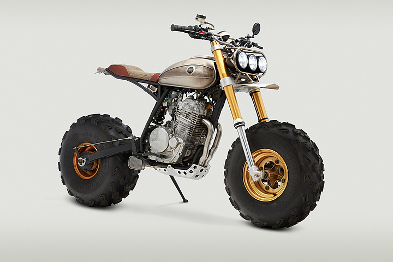 This Custom Yamaha BW is a Gift to All the Haters