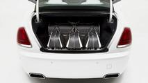 Rolls-Royce uses carbon fiber for $45,854 Wraith luggage set