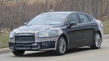 2017 Ford Fusion facelift spied in the United States