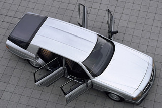 The 1981 Mercedes-Benz Auto 2000 Concept Was an Early Gas Miser