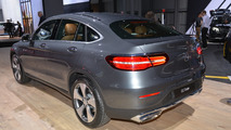 2017 Mercedes-Benz GLC Coupe at New York Auto Show 2016