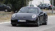 2015 Porsche 911 Turbo facelift / GTS spied in Spain [video]