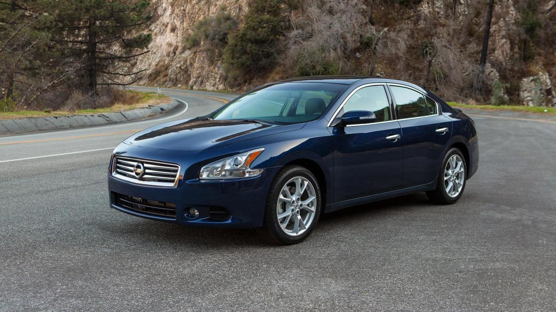 2014 Nissan Maxima gets minor upgrades, starts at 31,000 USD