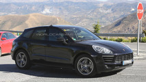 2014 Porsche Macan spied virtually undisguised
