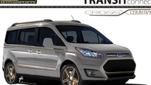 LGE*CTS Motorsports Ford Transit Connect for SEMA 25.10.2013