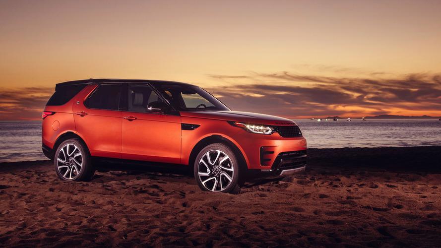 Los Angeles 2016 - Le Land Rover Discovery enfile sa tenue de sport