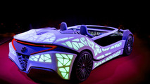 Bosch CES concept car uses entire dashboard as display