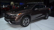 Infiniti QX30 arrives in LA looking exactly as you would expect