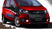 Honda Freed Spike Transporter for Tokyo Auto Salon 11.01.2012