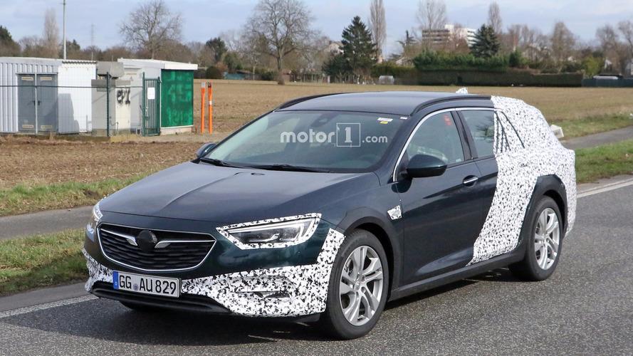 2018 Opel Insignia Country Tourer spy photos
