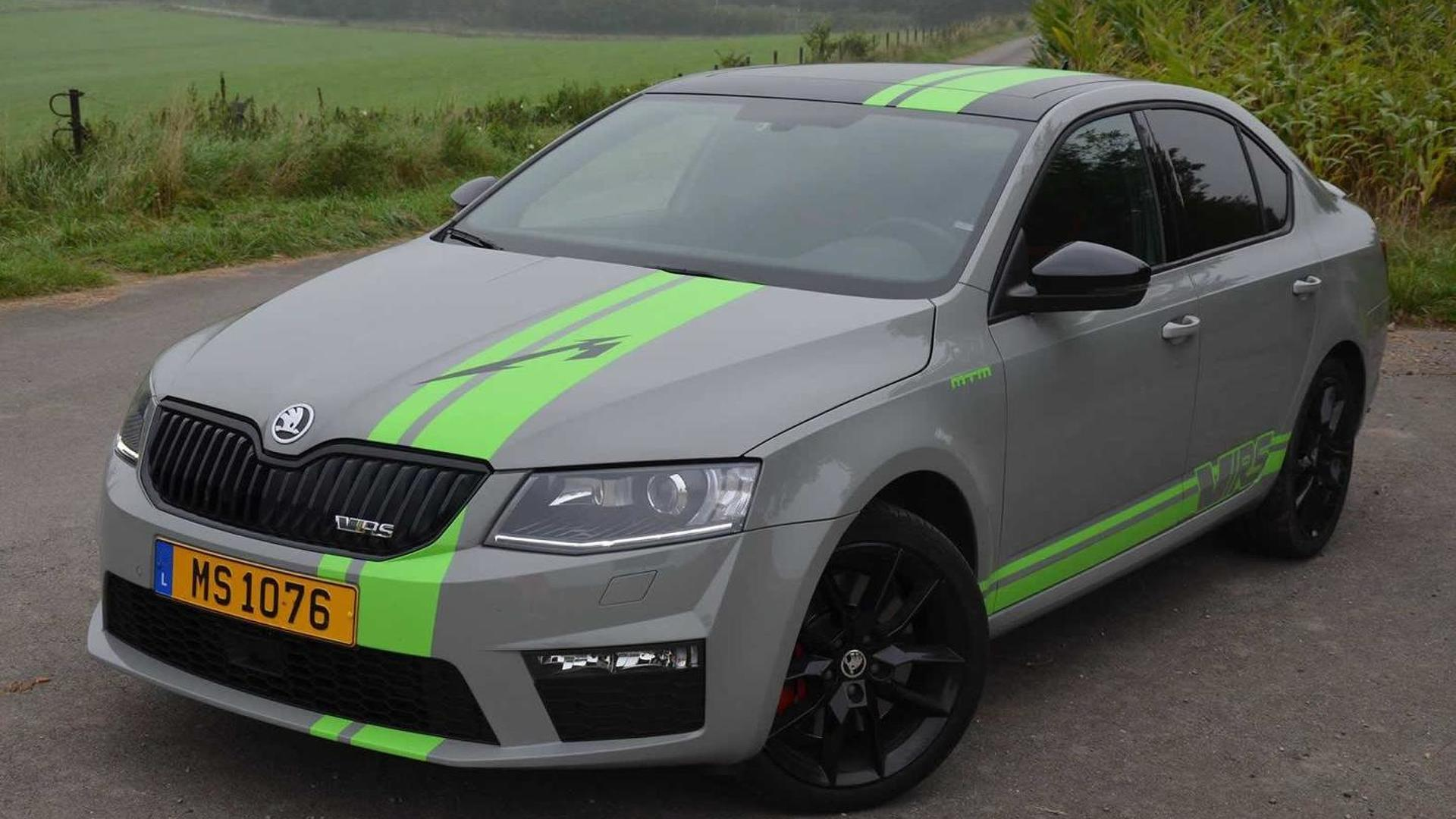 Skoda Octavia vRS upgraded to 304 HP by MTM