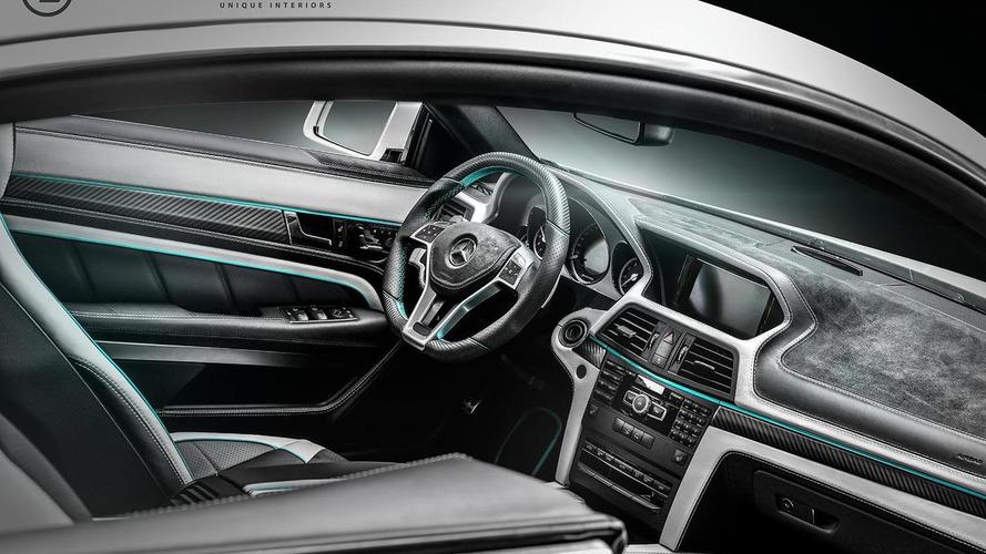 Mercedes-Benz E-Class Coupe gets interior F1 theme from Carlex Design