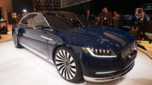 Lincoln Continental concept live in New York