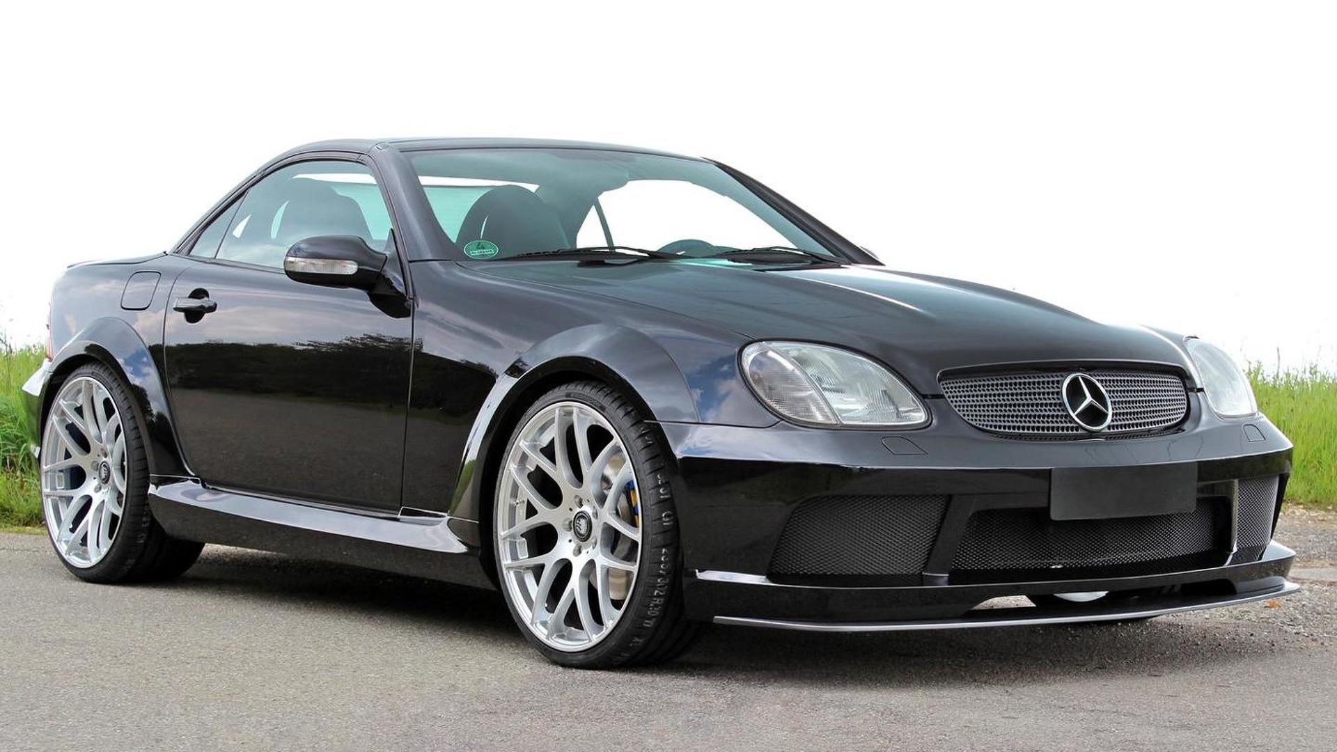 lumma tuning freshens up mercedes benz slk 32 amg r170. Black Bedroom Furniture Sets. Home Design Ideas