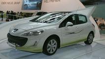 Peugeot 308 HybridHDi Demonstrator