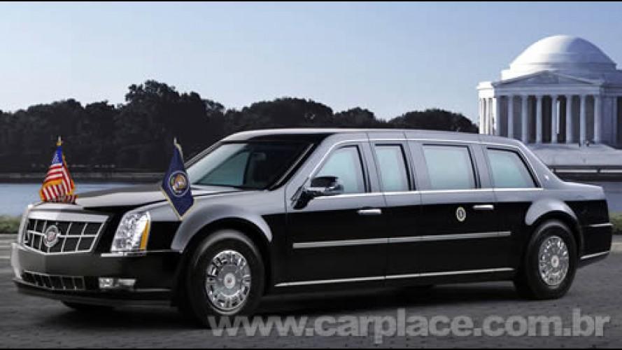 Presidente Barack Obama usará a nova Cadillac Presidential Limousine 2009