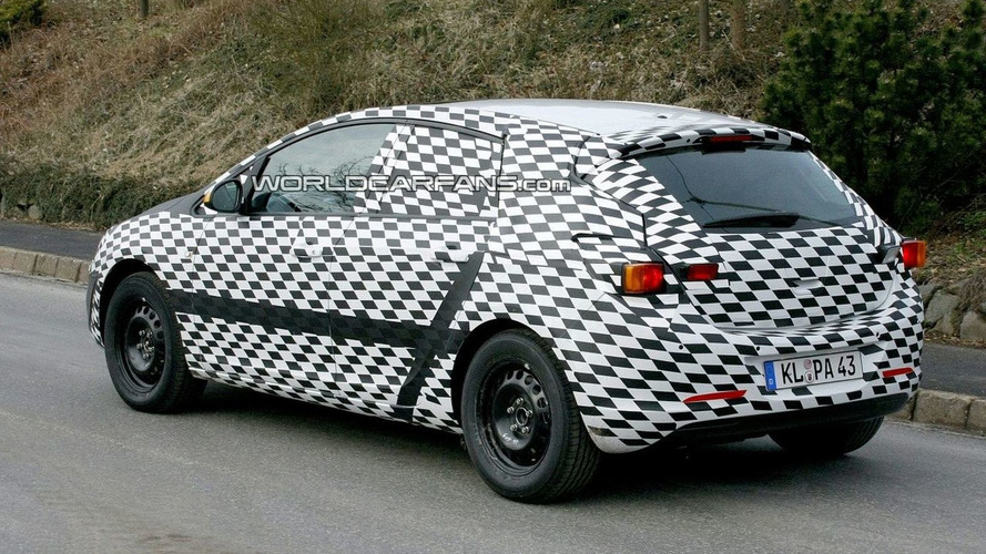 Next Generation Opel Astra In Germany