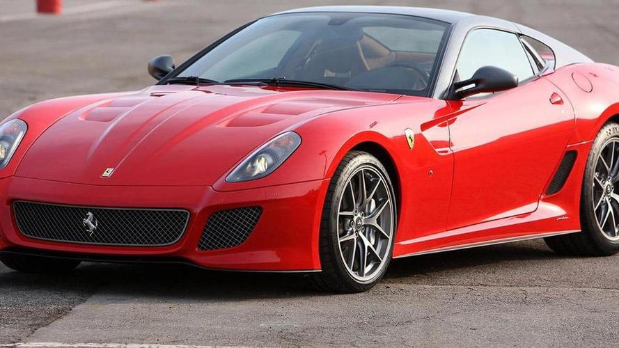 Ferrari 599 GTO new pics