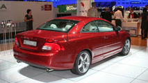 Volvo C70 facelift live at IAA Frankfurt 2009