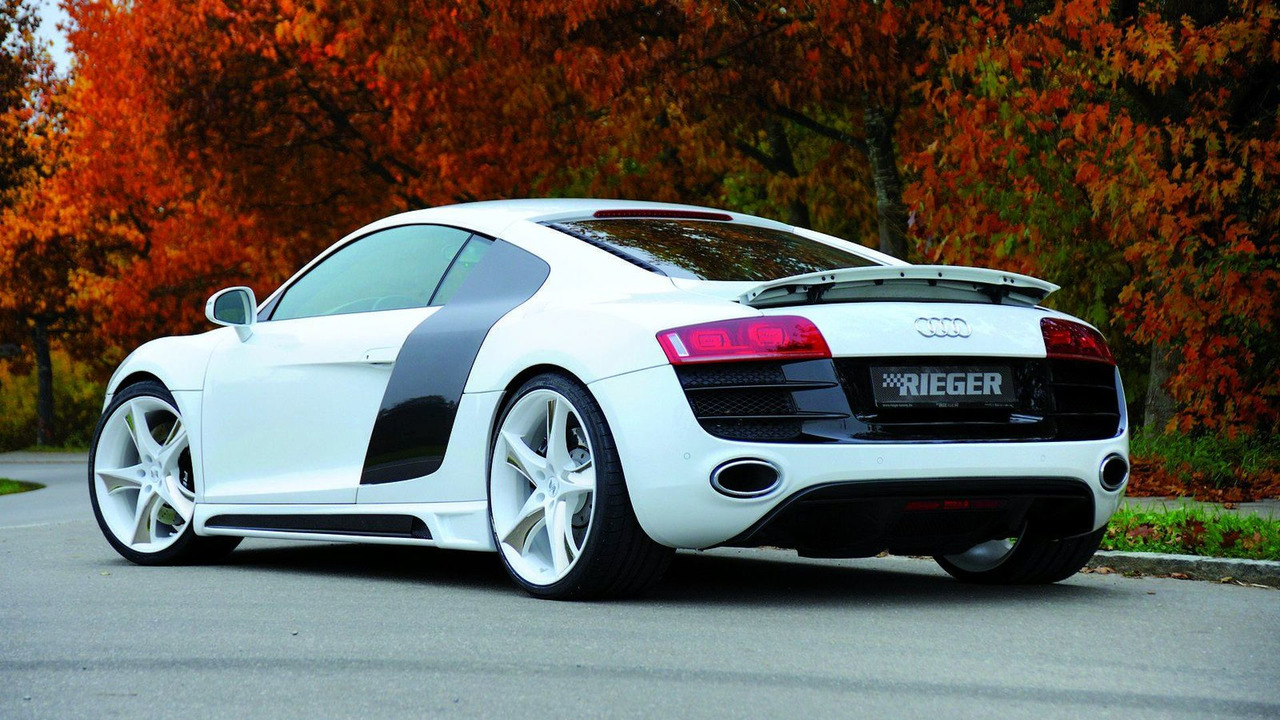 Rieger R8 V10 Styling Conversion for R8 V8 models 26.02.2010